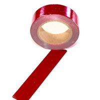 Foil Washi Tape - Red- out of stock