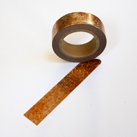 Foil Washi Tape - Sparkle Copper