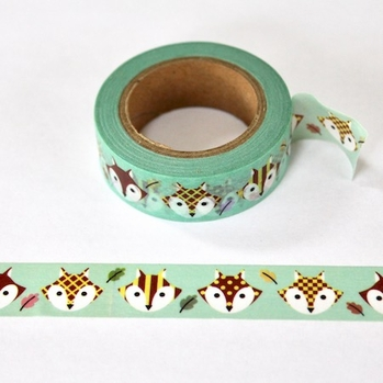 * Fox Washi Tape