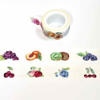 * Fruit Washi Tape