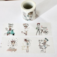 Girl Washi Tape - Wide - Out Of Stock