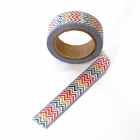 Glitter Chevron Washi Tape