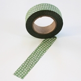 Glitter Green Dots Washi Tape