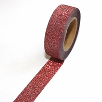 Glitter Red Washi Tape