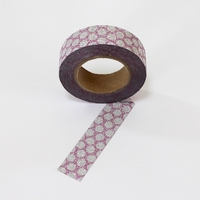 Glitter Washi Tape - Pink Dots