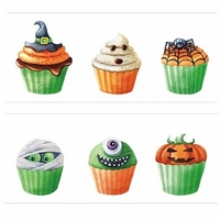 Halloween Cupcake Washi Tape