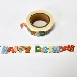 * Happy Birthday Washi Tape - Out Of Stock
