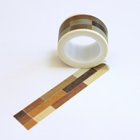 Hard Wood Floor Washi Tape