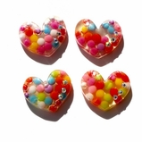 Heart Flatback Resin - out of stock