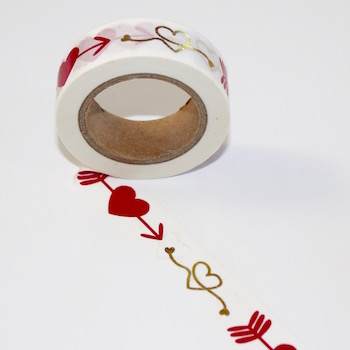 Hearts & Arrow Washi Tape