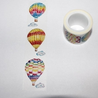 Hot Air Balloon Washi Tape - Vertical