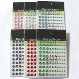 Jewel Multi Size Bling - 100 Count