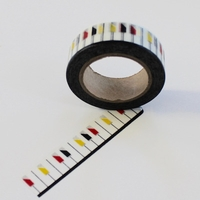 Key Board Washi Tape - Color