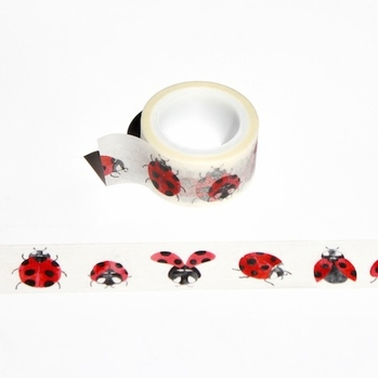 * Lady Bug Washi Tape