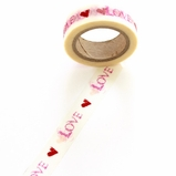 Love Washi Tape - Pink