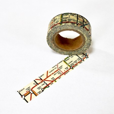 Map Washi Tape - out of stock