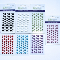 Matte Finish Enamel Dots