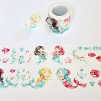 Mermaid Washi Tape