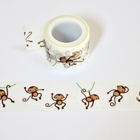 Monkey Washi Tape