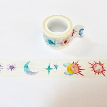 Moon & Star Washi Tape