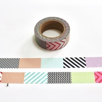 Multi Pattern Washi Tape