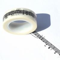 Music Note Washi Tape