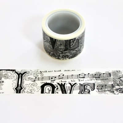 Music Washi Tape - Wide - out of stock