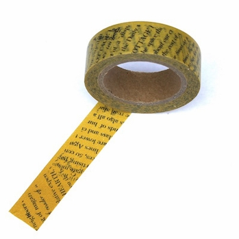 Newspaper Washi Tape