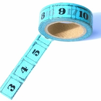 Number Washi Tape - Blue