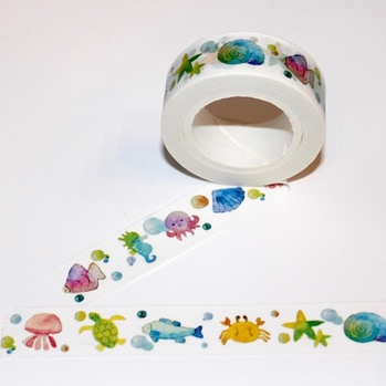Ocean Animal Washi Tape