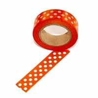 Orange Dot Washi Tape