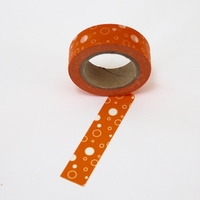 Orange Dots Washi Tape
