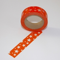 Orange Star Washi Tape