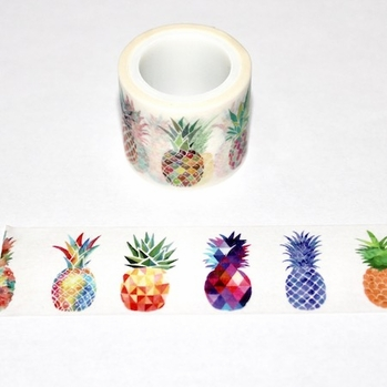 Pineapple Washi Tape - Wide