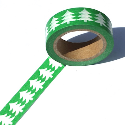 Pine Tree Washi Tape Out Of Stock