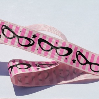 Pink Glasses Ribbon
