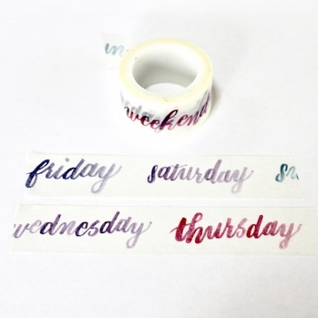*Planner Washi Tape - out of stock