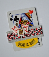 Playing Card Clear Stamps