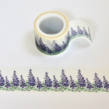* Purple Flower Washi Tape