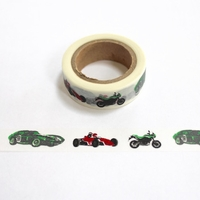 Race Car Washi Tape