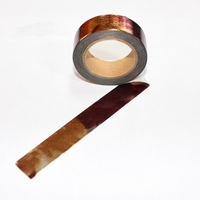 Rainbow Foil Washi Tape - Brown