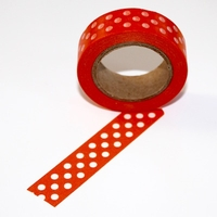 Red Dot Washi Tape