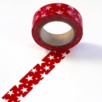 Red Star Washi Tape