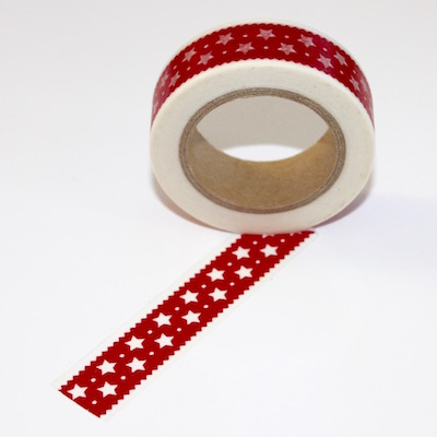 Red Star Washi Tape - out of stock