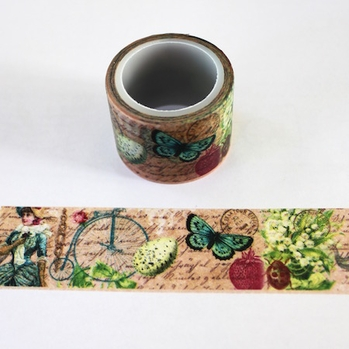 Retro Butterfly Washi Tape - Wide - Out Of Stock