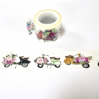 Scooter Washi Tape