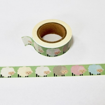 * Sheep Washi Tape