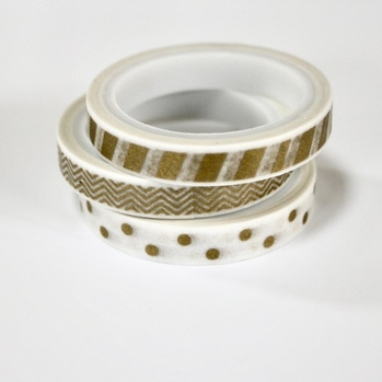 Skinny Gold Washi Tape - out of stock