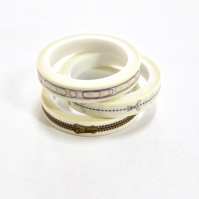 Paper Clip, Zipper Skinny Washi Tape - out of stock