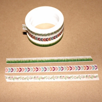 Skinny Washi Tape - Grass